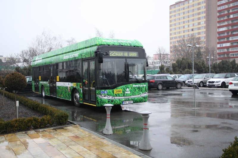 Hybridní autobus s karoserií Solaris